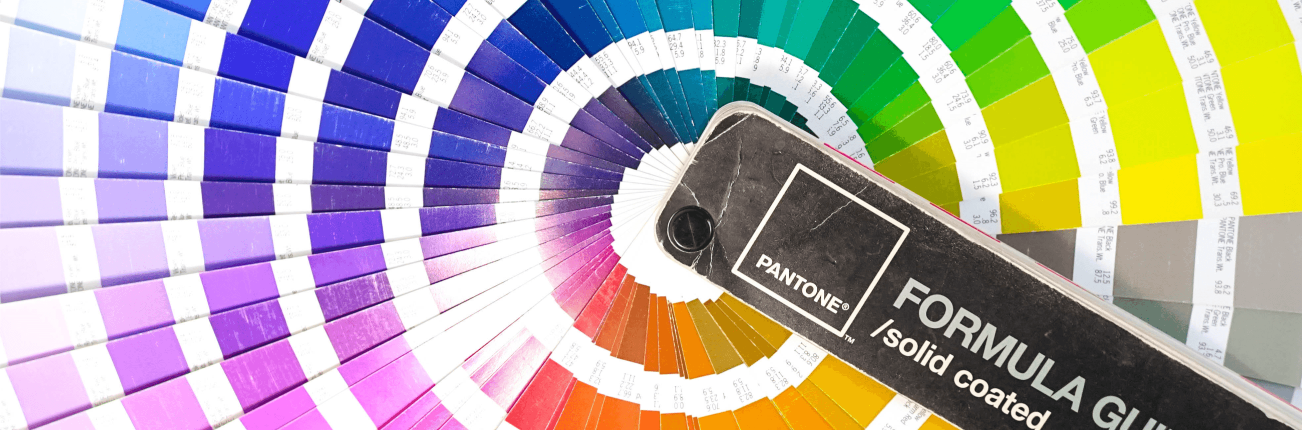 Differences in colour: RGB, CMYK & PMS