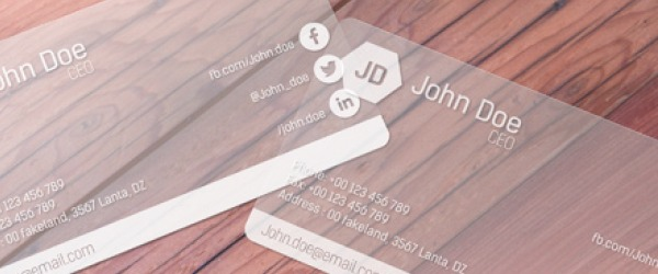 Luxury paper types for professional business cards