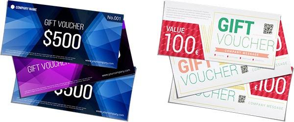 Wonderbaarlijk Zo kun je gratis en online een cadeaubon maken | Helloprint WR-05