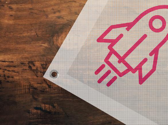 Banners, flags & signs | Cheap mass marketing methods | Helloprint