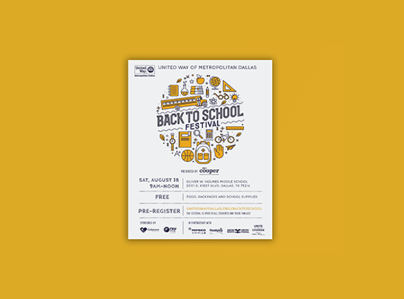 Friendly vibes | 8 Inspiring Flyer Designs
