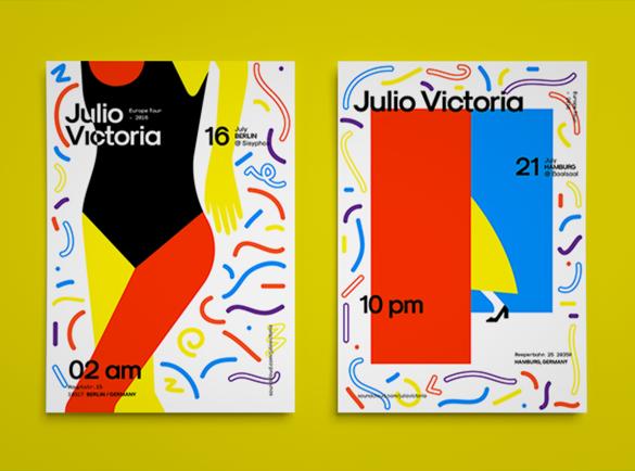 L'abstraction peut être la meilleure action   8 Design de flyers pour s'inspirer