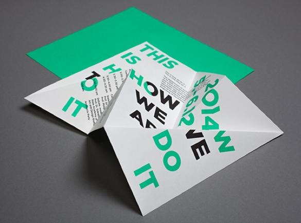 Une expérience de pliage   8 Designs de flyers pour s'inspirer
