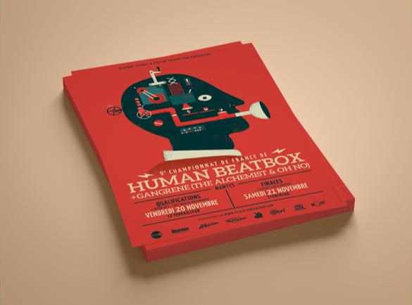Vif et audacieux   8 Designs de flyers pour s'inspirer