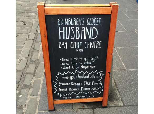 Husband Day Care Centre | 8 Funny Pavement Signs