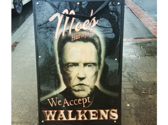 Pop Culture Puns | 8 Funny Pavement Signs