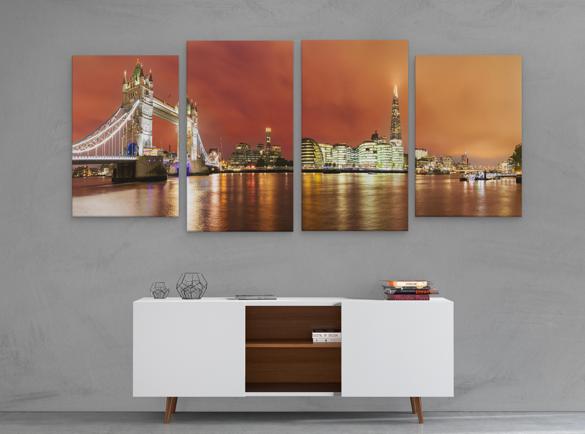 Room Decor | 5 Ways to Use Printed Panels
