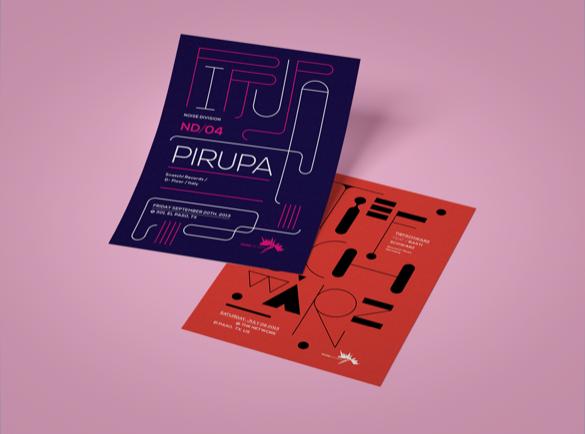 Des visuels en mouvement | 8 Design de flyers pour s'inspirer