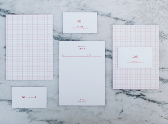 1. Bare Beauty | 10 Great Uses of Branded Stationery