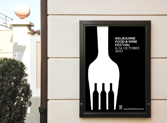 Black and White illusion   5 Great Examples of Poster Design