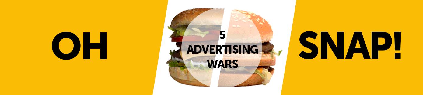 5 Great Advertising Wars Between Big Brands
