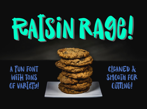For the foodies  | Bet You Haven't Heard of These Cool Fonts