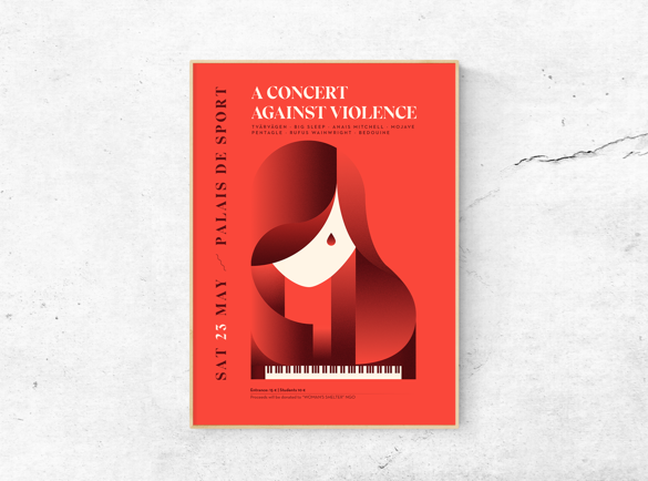 Geometric beauty   5 Great Examples of Poster Design