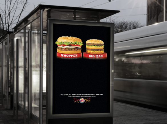 McDonald's vs Burger King