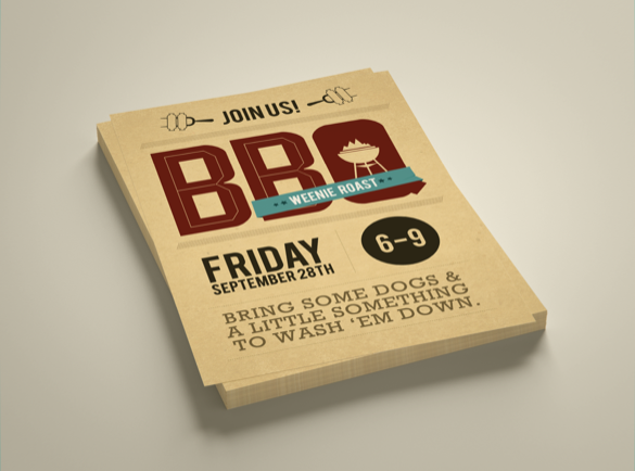 2. Big and Bold Text | 9 Flyer Ideas to Get You Started