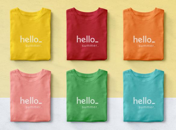 Amenez des couleurs d'été | Comment faire sourire vos clients grâce à une tenue de travail