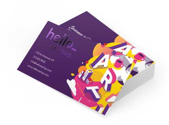 Business Cards with Spot UV Finish | How Much Do Business Cards Cost?