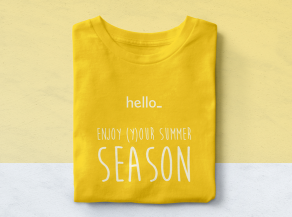 Funny Summer Slogan | How to Use Team Uniforms to Put a Smile On Your Customer's Face This Summer