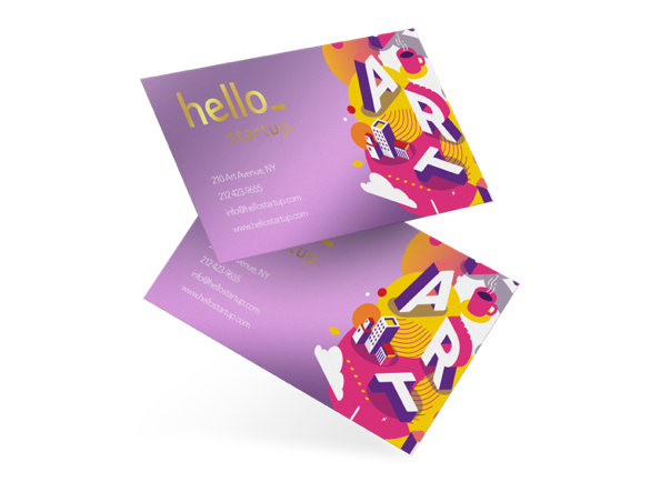 Metallic Business Cards | How Much Do Business Cards Cost?