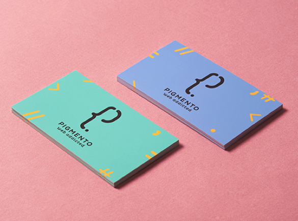7. Not Intimidating At All | 9 Examples of Good Business Cards