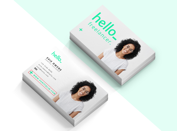 Portfolio Link | What to Put on a Personal Business Card