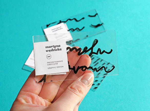 3. Transparency | 9 Examples of Good Business Cards