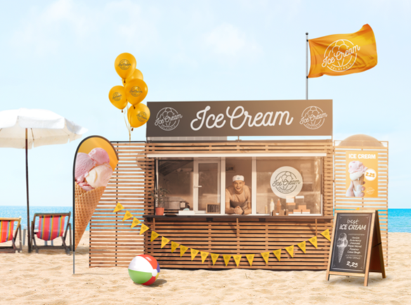 2. You Can't Beat the Classics | 5 Ways to Promote Your Business on the Beach