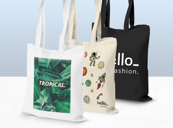 The Most Popular Promotional Logo Products | Branded reusable cotton bags