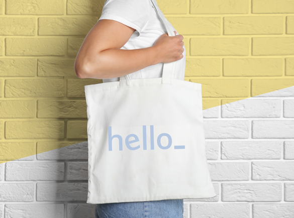 How to Stand Out At an Exhibition or a Fair | Give out big, branded reusable bags
