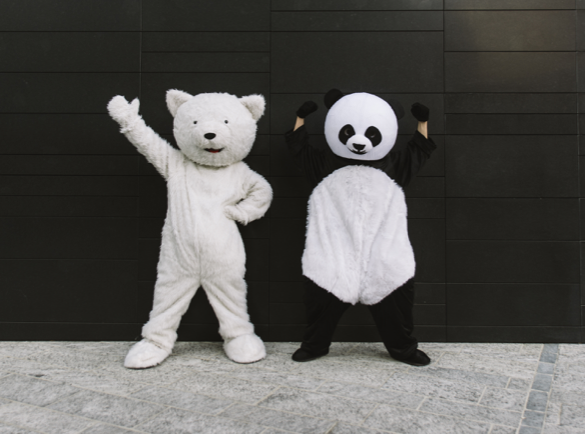 How to Stand Out At an Exhibition or a Fair | Mascot power