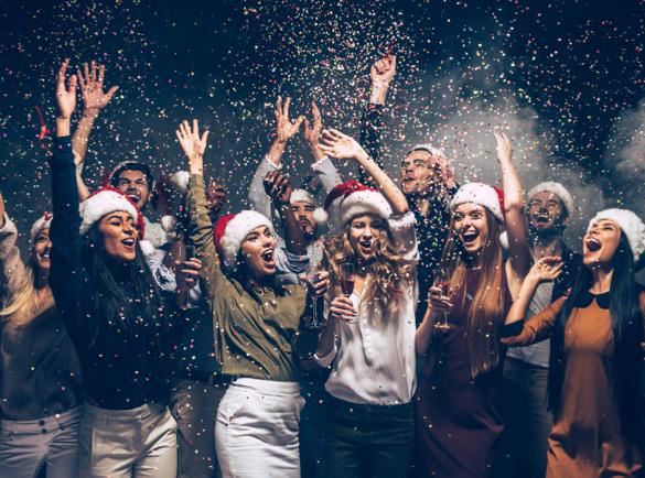 5 Ideas geniales de marketing navideño que querrás llevar a cabo | 3. Monta una pequeña fiesta de Navidad