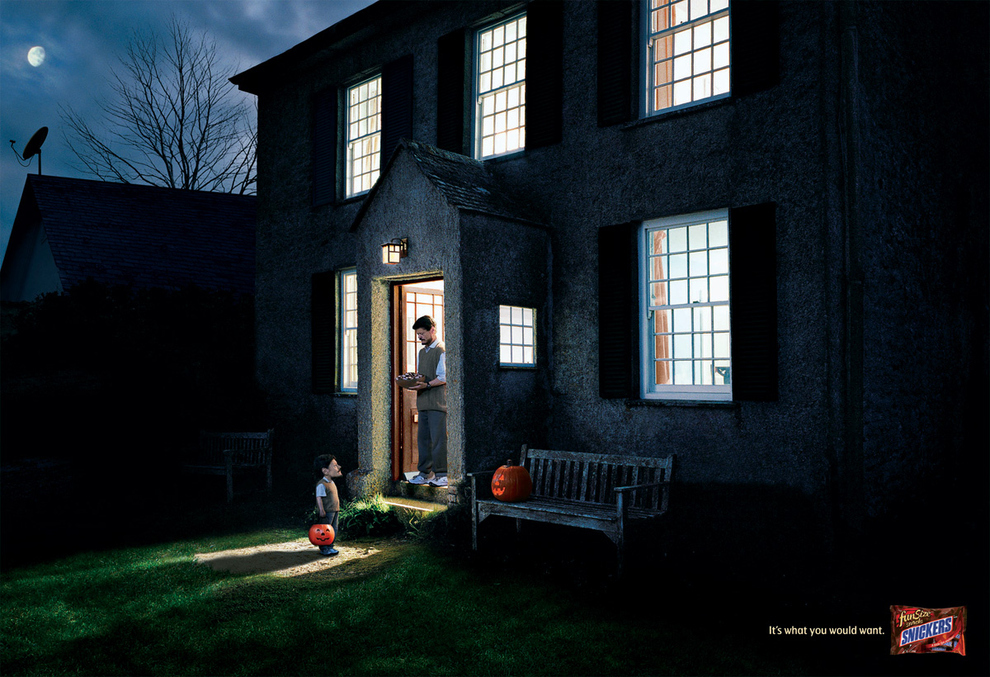 9 Great Examples of Halloween Holiday Campaigns | 9. Eerie but Effective