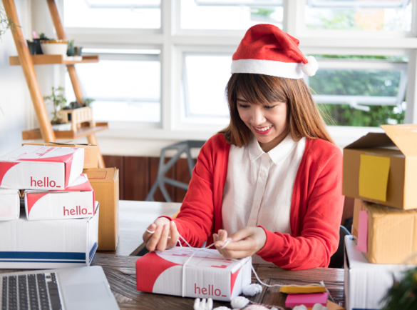 How to Make the Most Out of the Holiday Season As An Entrepreneur | 3. Customise Your Seasonal Marketing Materials