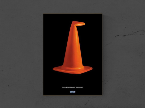 7 Spooktacular Halloween Print Advertisements | 6. A Witch's message