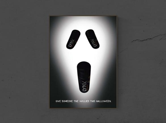 7 Spooktacular Halloween Print Advertisements | 1. Boo-hooo