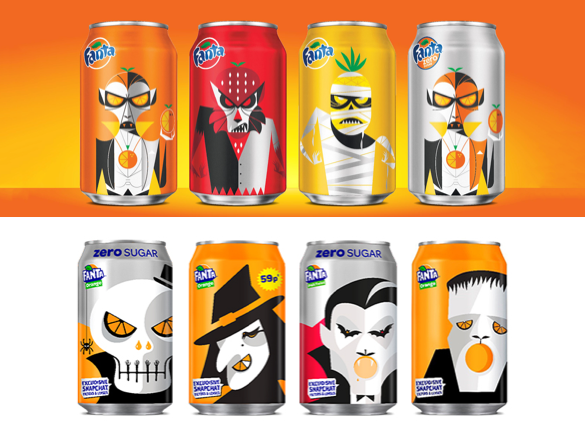 Which Brands Scare us the most at Halloween? | Fanta