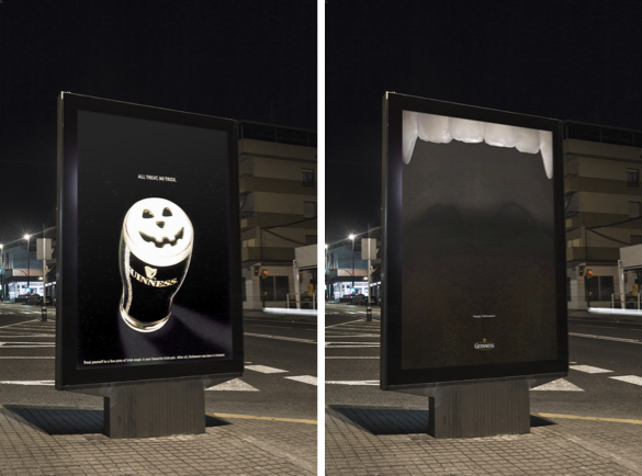 Which Brands Scare us the most at Halloween? | Guinness