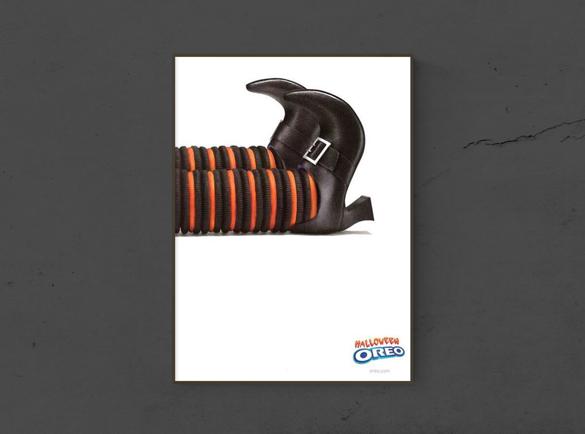 7 Spooktacular Halloween Print Advertisements | 2. No tricks. Just treats