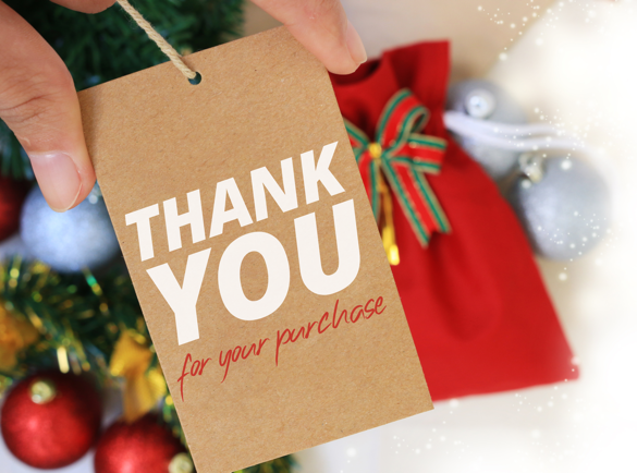 10 Cyber Monday Campaign Ideas | 4. Thank You for Shopping