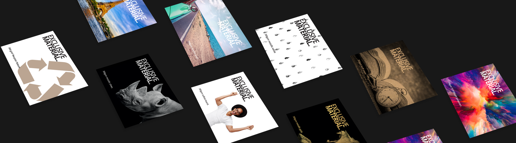 What Special Flyer Material Suits the Aims of Your Business Best?