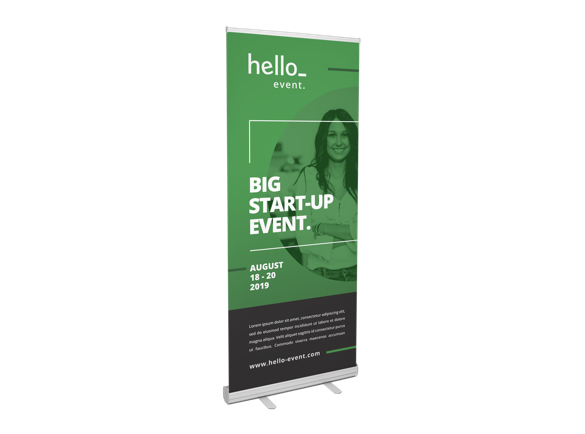 eco roller banners