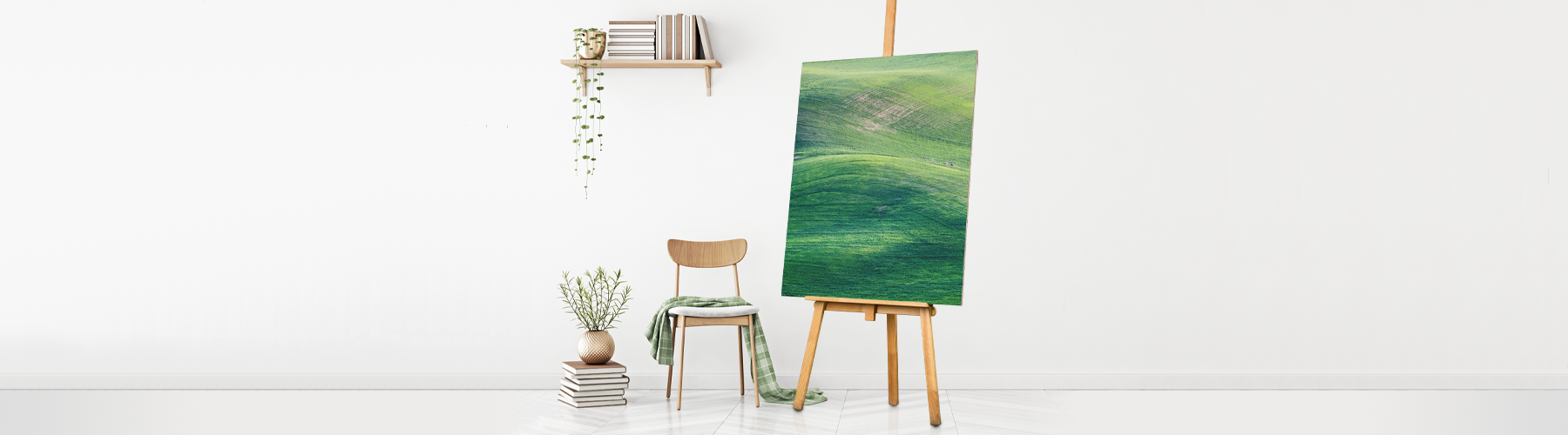 How to Hang Your Canvas on the Wall